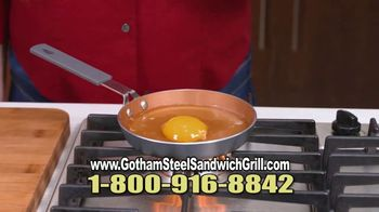 Gotham Steel Sandwich Grill TV Spot, 'Perfectly Cooked' Featuring Daniel Green - Thumbnail 8