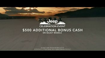 Jeep Celebration Event TV Spot, 'SUV Letters Earned' Song by The Kills [T2] - Thumbnail 10