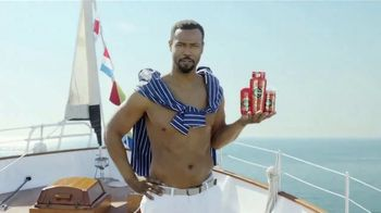 Hulu (No Ads) TV Spot, 'Old Spice Ad' Ft. Isaiah Mustafa, Song by Dillon Francis, Jarina De Marco - Thumbnail 2