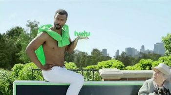 Hulu (No Ads) TV Spot, 'Old Spice Ad' Ft. Isaiah Mustafa, Song by Dillon Francis, Jarina De Marco - Thumbnail 7