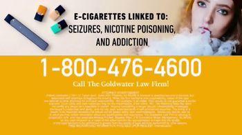 Goldwater Law Firm TV Spot, 'E-Cigarette Warning' - Thumbnail 10