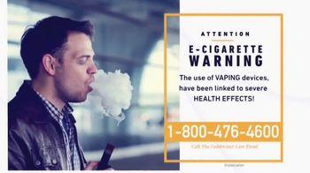 Goldwater Law Firm TV Spot, 'E-Cigarette Warning' - Thumbnail 2