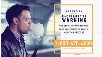 Goldwater Law Firm TV Spot, 'E-Cigarette Warning' - Thumbnail 3