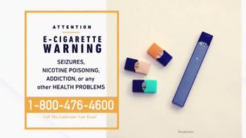 Goldwater Law Firm TV Spot, 'E-Cigarette Warning' - Thumbnail 4