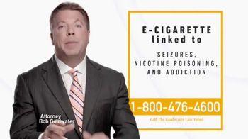Goldwater Law Firm TV Spot, 'E-Cigarette Warning' - Thumbnail 8