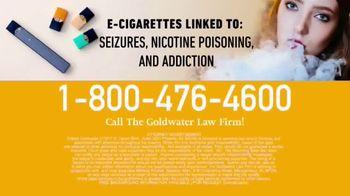Goldwater Law Firm TV Spot, 'E-Cigarette Warning' - Thumbnail 9