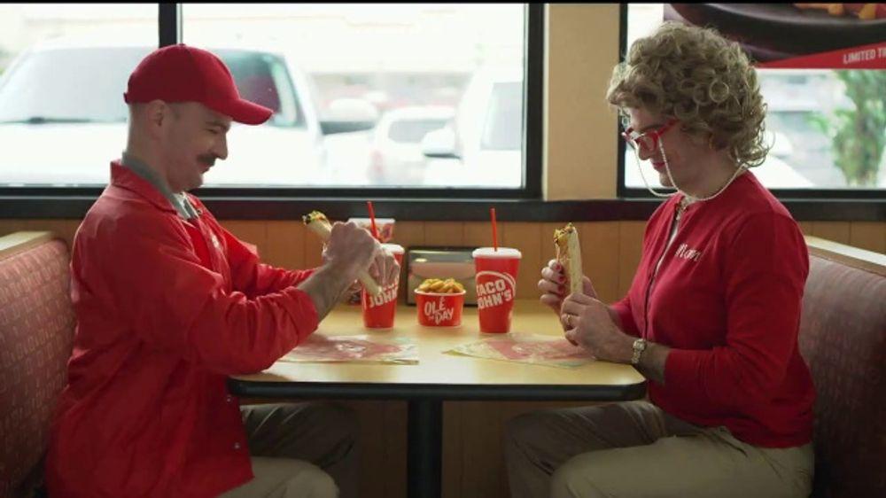 Taco John's Sirloin Steak Burrito TV Commercial, 'Coach: Date Night'