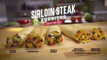 Taco John's Sirloin Steak Burrito TV Spot, 'Coach: Date Night' - Thumbnail 7