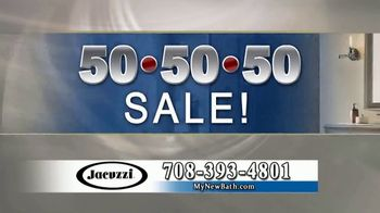 Jacuzzi 50 50 50 Sale TV Spot, '70 Minutes' - Thumbnail 6