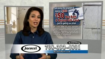 Jacuzzi 50 50 50 Sale TV Spot, 'Outdated Shower or Bath' - Thumbnail 8