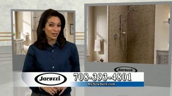 Jacuzzi 50 50 50 Sale TV Spot, 'Outdated Shower or Bath'