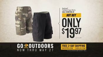 Bass Pro Shops Go Outdoors Event and Sale TV Spot, 'RedHead Cargo Shorts & Shirts'