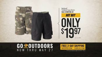 Bass Pro Shops Go Outdoors Event and Sale TV Spot, 'RedHead Cargo Shorts & Shirts' - Thumbnail 7