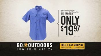 Bass Pro Shops Go Outdoors Event and Sale TV Spot, 'RedHead Cargo Shorts & Shirts' - Thumbnail 8