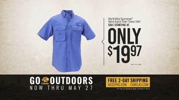 Bass Pro Shops Go Outdoors Event and Sale TV Spot, 'RedHead Cargo Shorts & Shirts' - Thumbnail 9