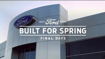 Ford Built for Spring Sales Event TV Spot, 'Get a Ford: Adventure Gear' [T2] - Thumbnail 8