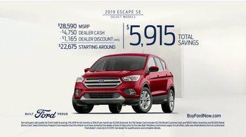 2019 Ford Escape TV Spot, 'Loyalty' [T2] - Thumbnail 10