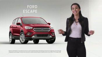 2019 Ford Escape TV Spot, 'Loyalty' [T2] - Thumbnail 3