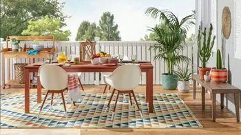 Overstock.com Patio Super Sale TV Spot, 'Furniture and Area Rugs'