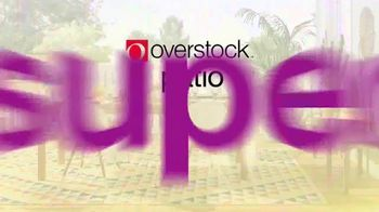 Overstock.com Patio Super Sale TV Spot, 'Furniture and Area Rugs' - Thumbnail 2