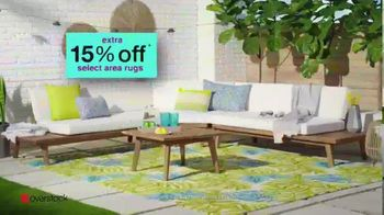 Overstock.com Patio Super Sale TV Spot, 'Furniture and Area Rugs' - Thumbnail 5