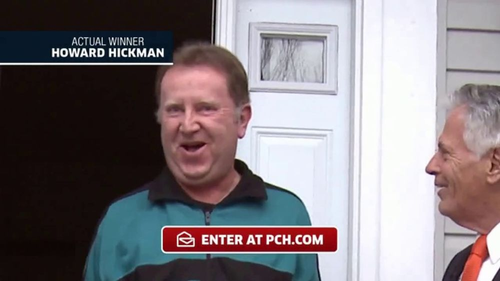 Publishers Clearing House TV Commercial, 'Actual Winner: Howard Hickman' -  Video