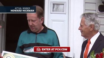 Publishers Clearing House TV Spot, 'Actual Winner: Howard Hickman' - Thumbnail 4