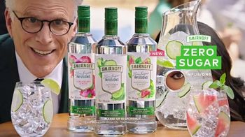 Smirnoff Zero Sugar Infusions TV Spot, 'Ted Danson and Cecily Strong Work Their Way Into Our Product Shot'
