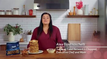Fisher Pecan Halves TV Spot, 'Food Network: Cranberry Orange Pancakes' Featuring Alex Guarnaschelli - Thumbnail 1