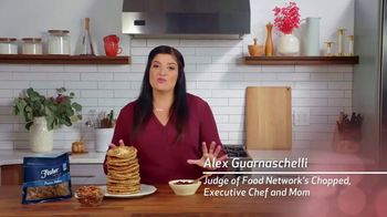Fisher Pecan Halves TV Spot, 'Food Network: Cranberry Orange Pancakes' Featuring Alex Guarnaschelli - Thumbnail 2