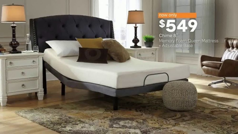 Ashley Homestore Black Friday Mattress Sale Tv Commercial Extended