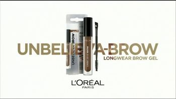 L'Oreal Paris Unbelieva-Brow Longwear Brow Gel TV Spot, 'Brows for Days' - Thumbnail 9