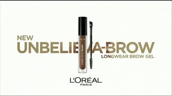 L'Oreal Paris Unbelieva-Brow Longwear Brow Gel TV Spot, 'Brows for Days' - Thumbnail 4