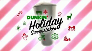 Dunkin' Donuts Holiday Sweepstakes TV Spot, 'Congratulations Ranine Jaraman'