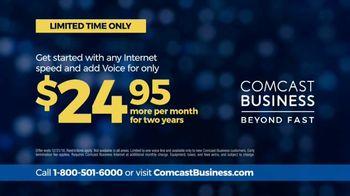 Comcast Business TV Spot, 'Complete Reliability' - Thumbnail 9