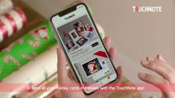 TouchNote App TV Spot, 'Holidays: Holiday Cards'