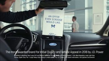 Ford Built for the Holidays Sales Event TV Spot, 'An Offer Even Scrooge Would Like' [T2] - 112 commercial airings