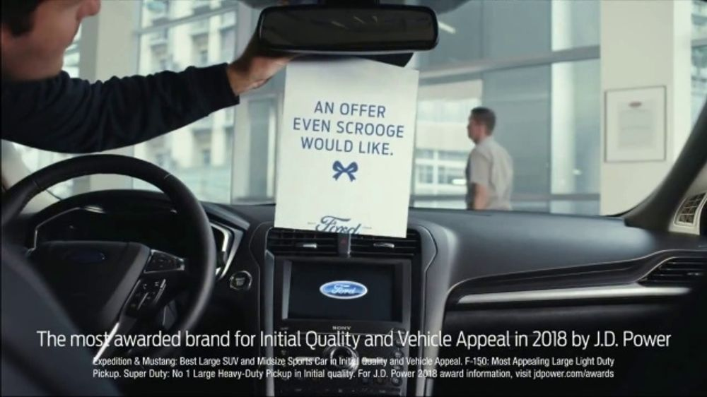 Ford Built for the Holidays Sales Event TV Commercial, 'An Offer Even Scrooge Would Like' [T2]