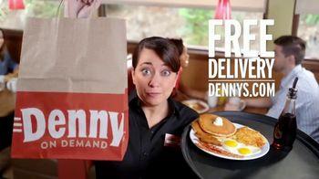 Denny's Super Slam TV Spot, 'Free Delivery'