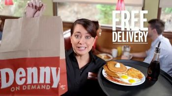 Denny's Super Slam TV Spot, 'Free Delivery' - Thumbnail 5