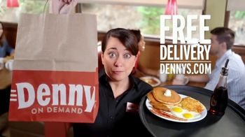 Denny's Super Slam TV Spot, 'Free Delivery'