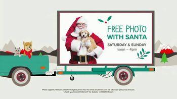 PetSmart Santa Photo Days TV Spot, 'Make Holiday Memories'