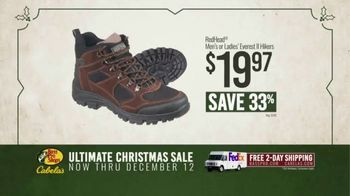 Bass Pro Shops Ultimate Christmas Sale TV Spot, 'Flannels and Henleys and Hikers' - Thumbnail 9