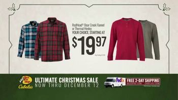 Bass Pro Shops Ultimate Christmas Sale TV Spot, 'Flannels and Henleys and Hikers' - Thumbnail 6
