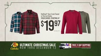 Bass Pro Shops Ultimate Christmas Sale TV Spot, 'Flannels and Henleys and Hikers' - Thumbnail 7