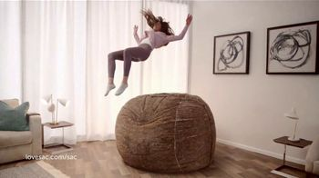 Lovesac TV Spot, 'The World's Most Comfortable Seat'