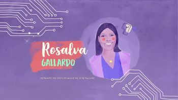 TECHNOLOchicas TV Spot, 'Rosalva Gallardo: gerente de programas de software' [Spanish]