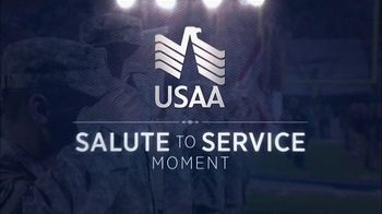 USAA TV Spot, 'Salute to Service: Larry Fitzgerald Honors Veterans' - Thumbnail 1