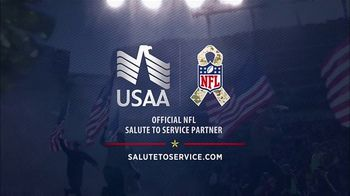 USAA TV Spot, 'Salute to Service: Larry Fitzgerald Honors Veterans' - Thumbnail 10