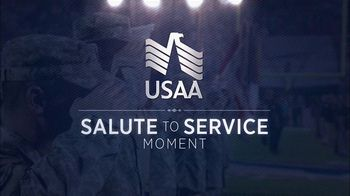 USAA TV Spot, 'Salute to Service: Larry Fitzgerald Honors Veterans' - Thumbnail 2